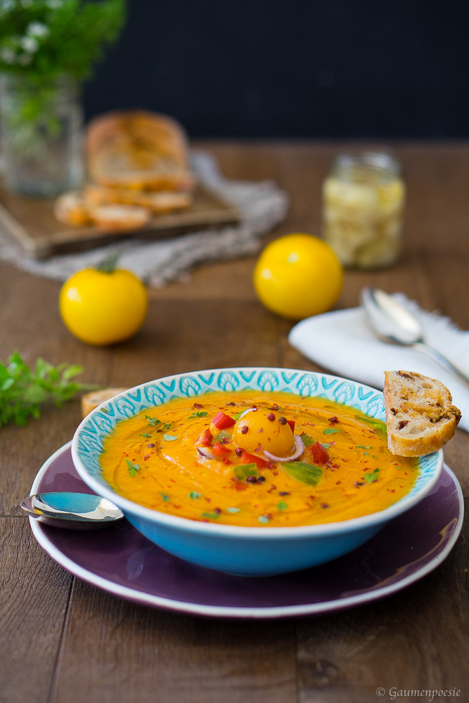 Tomaten-Paprika-Suppe 1