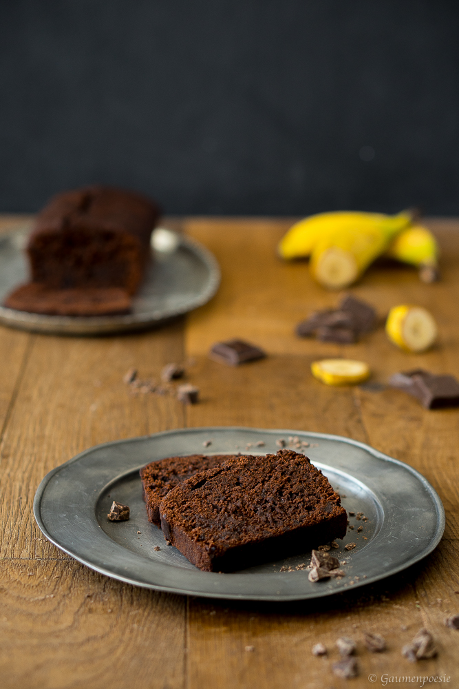 Double Chocolate Banana Bread 1