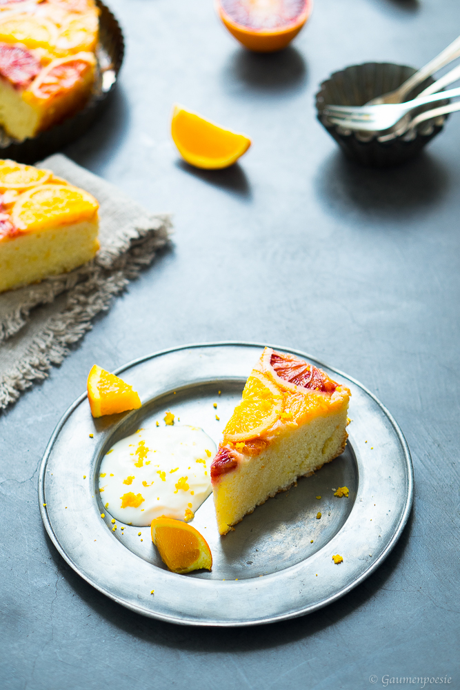 Upside-Down Cake mit Zitrusfrüchten - Slider 3