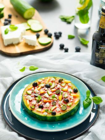 Gegrillte Wassermelonen-Pizza 1