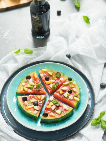 Migros Wassermelonen-Pizza Beitragsbild