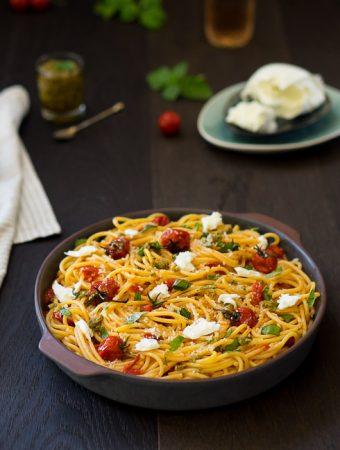 Spaghetti alla Sorrentina Beitragsbild