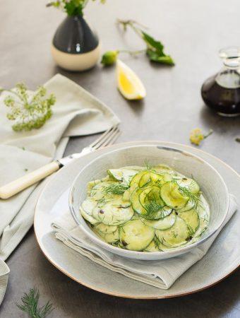 Steirischer Gurkensalat 1