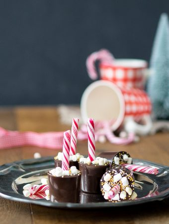 Weihnachtliche Heisse Schokolade am Stiel 1
