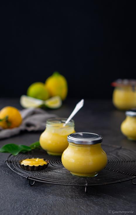 Lemon Curd – cremige Zitronencreme