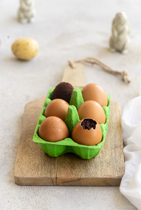 Brownie-Ostereier Rezeptbild