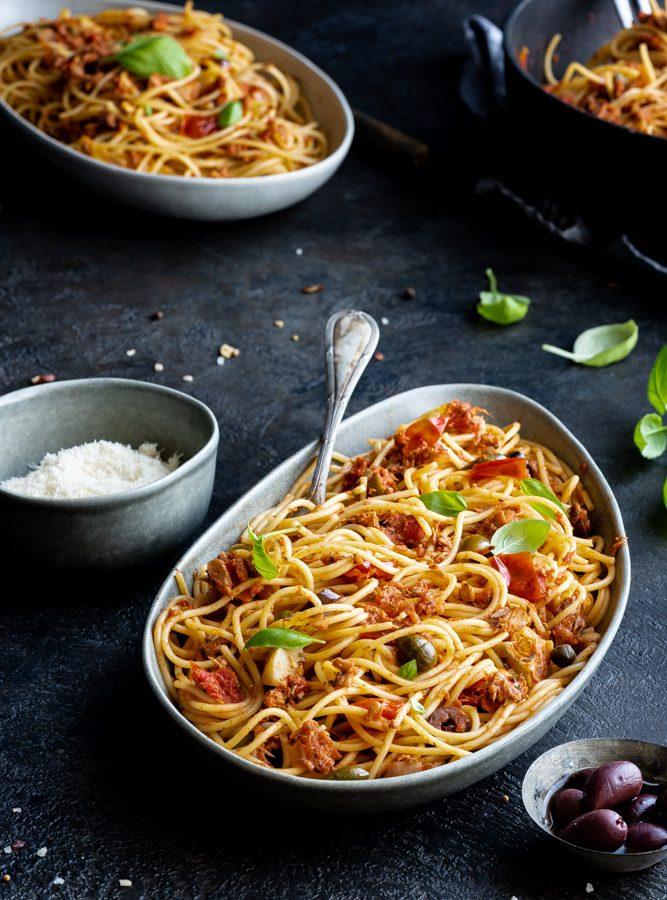 Spaghetti al tonno 1