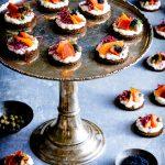 Vegane Karottenlachs-Brötchen mit Meerrettich 1