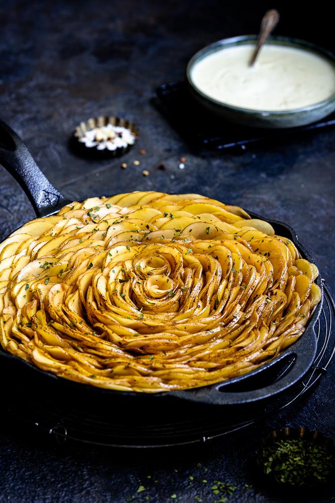 Kartoffelchips-Gratin 4