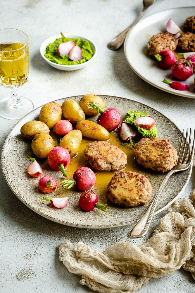 Kalbsbutterschnitzel mit Zitronen-Buttersauce 3