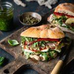 Italienisches Antipasti Sandwich B.
