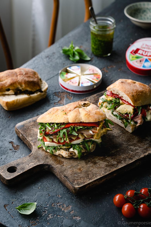 Italienisches Antipasti Sandwich 5